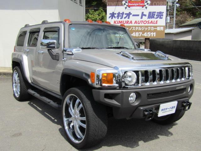 「ハマー」「ハマー H3」「SUV・クロカン」「和歌山県」の中古車