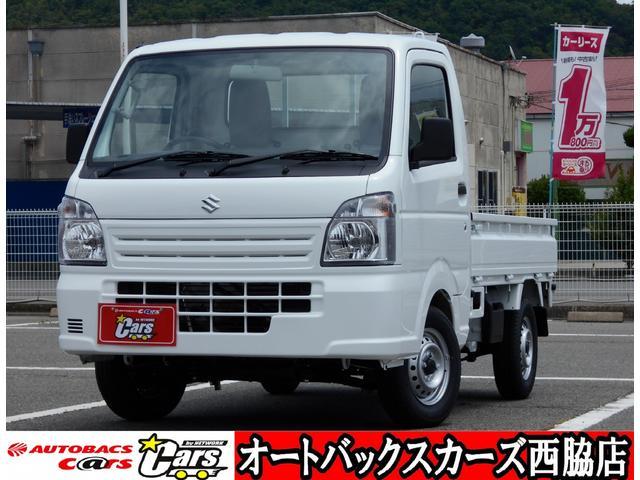 スズキ キャリイトラック KCエアコン・パワステ 届出済未使用車 4WD5MT 3方開