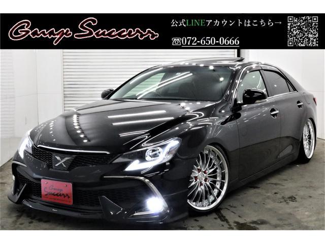 トヨタ 黒革サンルーフRDSモデリスタ新WORK19新TEIN車高調