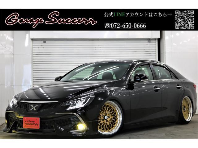 トヨタ マークX SパケRDS×モデリスタ新SSR19AW新TEIN車高調