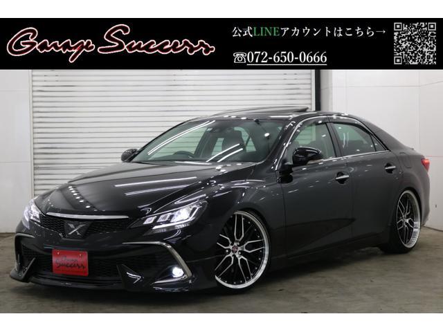 トヨタ マークX 350RDS革シートサンルーフナビBカメラETCフルセグTV