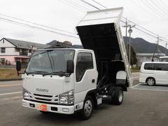 エルフトラック強化フルフラットローダンプ  新免許対応