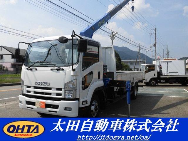 いすゞ タダノ 2.9t吊4段クレーン フックイン ラジコン