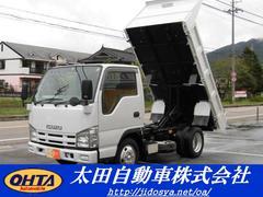 エルフトラック強化フルフラットローダンプ 3t4ナンバー