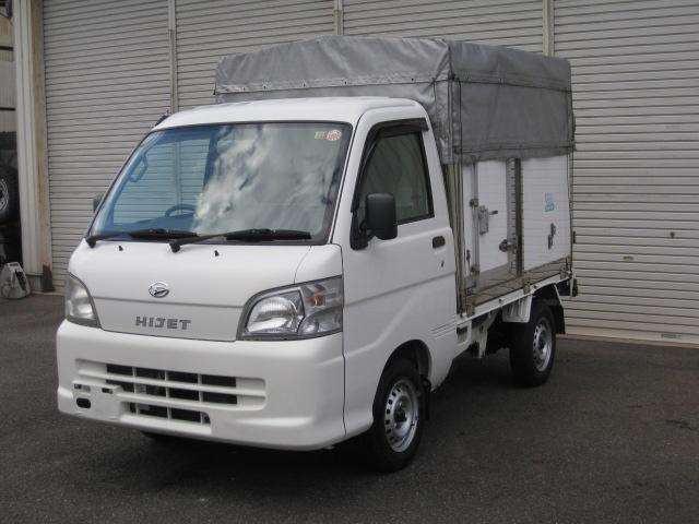 ダイハツ 幌付き箱車 4WD ミッション 荷箱リア観音