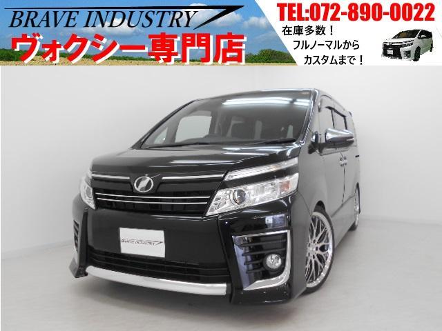 トヨタ ZS煌7人乗 SDナビ 新品車高調 新品19AW 両側電スラ