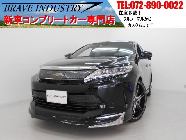 トヨタ プレミアム新車 サンルーフ シーケンシャル 車高調22インチ