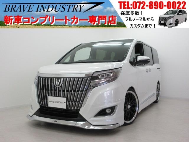 トヨタ Gi7人 新車 モデリスタエアロ 車高調 19AW 両電スラ