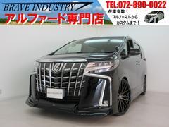 アルファードSC新車 TRD サンルーフ 3眼 デジタルインナーミラー