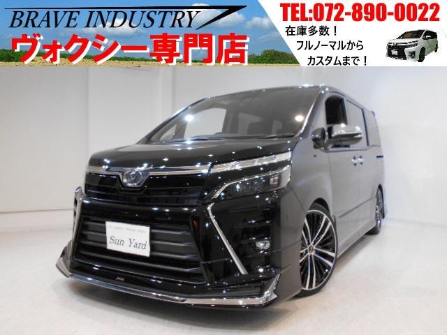 トヨタ ヴォクシー ZS煌II 新車7人 モデリスタ 車高調 19AW 両電スラ