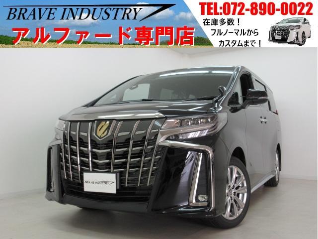 トヨタ アルファード Sタイプゴールド新車 3眼 フリップダウン 両電スラPバック