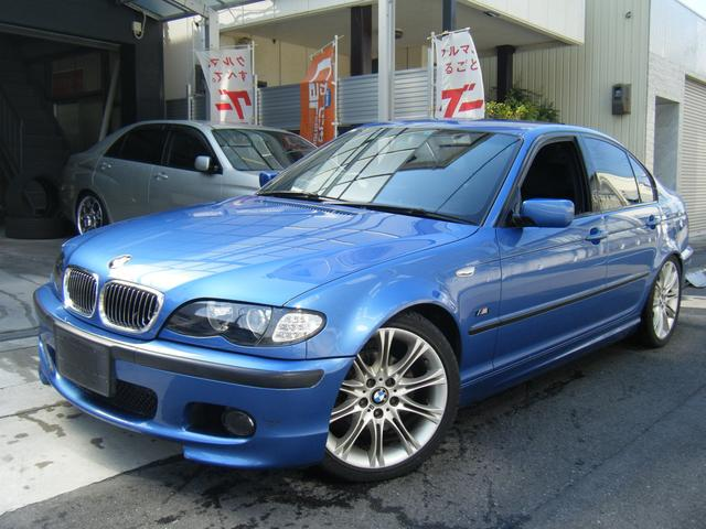 BMW 318i Mスポーツ リミテッド特別仕様車 ナビ マフラー