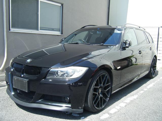 BMW 3シリーズ 320iツーリング Mスポーツ 19アルミ カーボンパネル