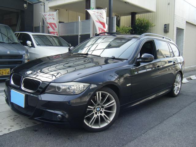 BMW 3シリーズ 320iツーリング Mスポーツパッケージ 後期モデルLCI オプション18アルミ Mスポーツ 純正HDDナビ スマートキー
