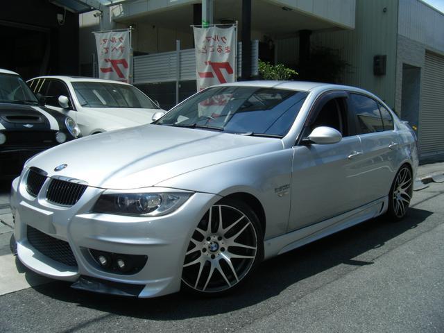BMW 3シリーズ 323i エナジーコンプリートカー 4本出しマフラー フルエアロ 19インチアルミ レザーシート ドライブレコーダー LEDテールライト