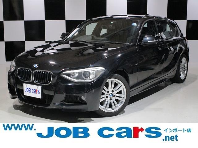 BMW 1シリーズ 120i Mスポーツ 純正HDDナビ バックカメラ キセノンヘッドライト 純正17AW ETC アイドリングストップ パークアシスト 前席パワーシート F・Rフォグランプ USB プッシュスタート スマートキー 禁煙車