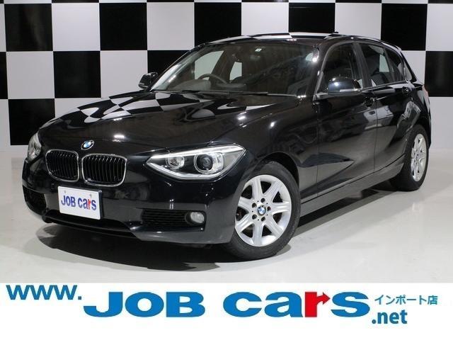 BMW 1シリーズ 116i 純正HDDナビ Bluetooth 純正16AW キセノンヘッドライト ETC プッシュスタート スマートキー アイドリングストップ ステアリングスイッチ Aライト 禁煙車 1オーナー Mサーバー
