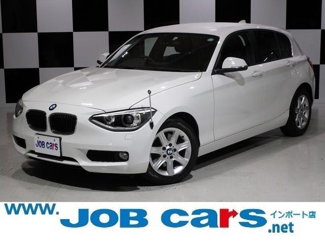 BMW 1シリーズ 116i 純正HDDナビ キセノンヘッドライト アイドリングストップ ETC ドライビングパフォーマンスコントロール 純正16AW ステアリングスイッチ MTモード オートライト USB ミュージックサーバー