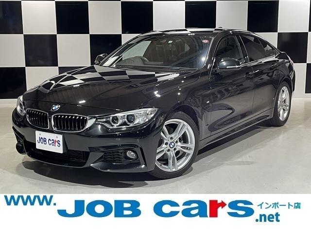 BMW 4シリーズ 420iグランクーペ Mスポーツ 純正ナビ 純正18AW コンフォートアクセス クルーズコントロール パークアシスト Bカメラ 前席Pシート Pバックドア Bluetooth USB入力 オートライト レーンアシスト HID ETC
