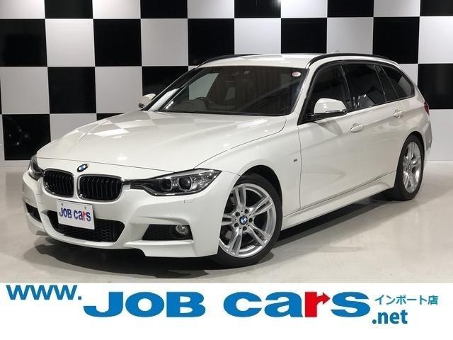 BMW 3シリーズ 320iツーリング Mスポーツ 純正HDDナビ 純正18AW ミラーETC クルコン パワーシート インテリジェントセーフティ HIDヘッドライト パドルシフト Bカメ 社外レーダー アイドリングストップ 禁煙車 Bluetooth