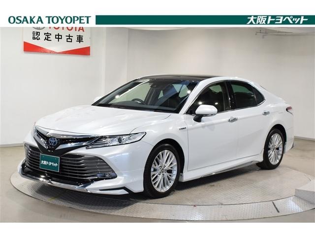 トヨタ カムリ Gレザーパッケージ Mルーフ サポカー LEDライト 本革
