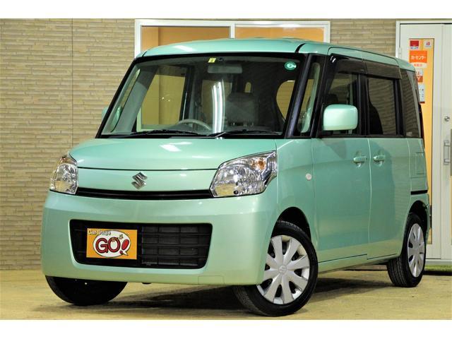 スズキ X CDチューナー・ETC車載器・アイドリングストップ・電動スライドドア・LEDテール・ベンチシート・フルフラットシート・スマートキー×2・プッシュスタート・電動格納ミラー・パンク修理キット
