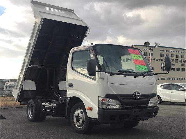 トヨタ ダイナトラック フルジャストローダンプ 2t積 5速MT ETC エアコン