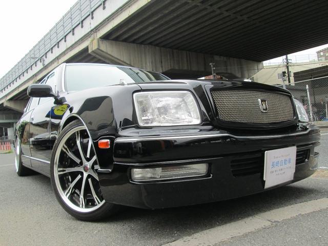 トヨタ フロアシフト 黒革シート 20インチAW ツインモニター