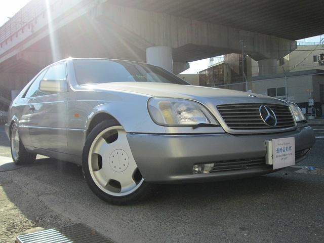 メルセデス・ベンツ S500クーペ サンルーフ ロリンザ19インチAW