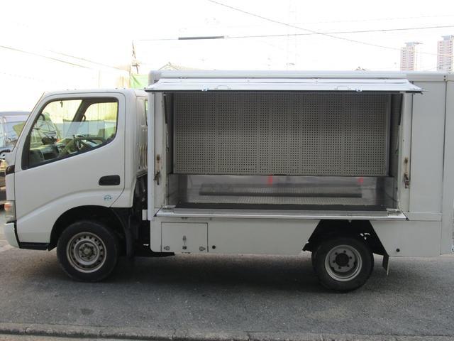 トヨタ ロングジャストロー パネルバン 荷台部多用途 バックモニタ