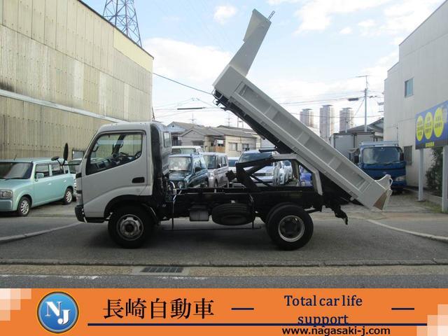トヨタ ダンプ 4トンダンプ ディーゼルターボ車 ETC