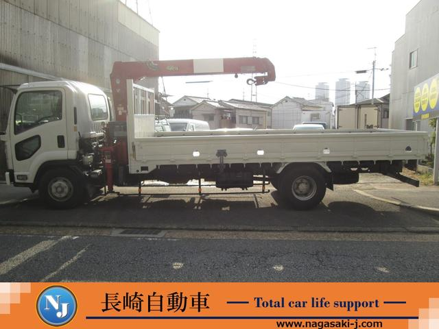 いすゞ フォワード タダノ製3段ユニッククレーン付トラック2.93t吊ラジコン有