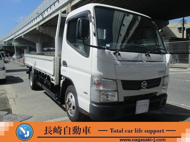 日産 フルスーパーローDX 2トントラック ロング 3.0ディーゼルターボ ナビ 地デジTV ETC 荷台長さ435cm幅178cm高さ37cm 走行1万キロ台 地上荷台高さ92cm AT可