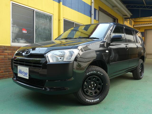 トヨタ プロボックス GL リフトアップ 新品15AW 新品タイヤ メモリーナビ
