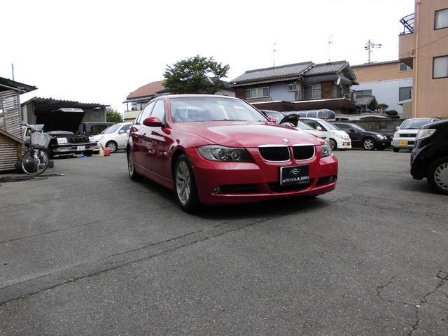 BMW 320i シート張替え ナビ バックモニター