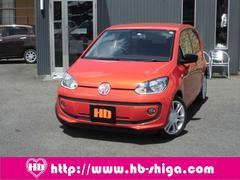VW アップ!オレンジ アップ! クルーズコントロール 4ドア ETC