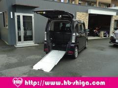 N−BOX+カスタムG 車いす仕様車 スローパー 電動ウインチ 純正ナビ