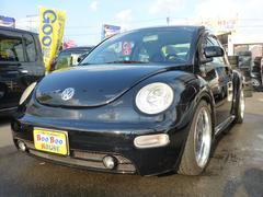 VW ニュービートルプラス 車高調マフラAWタイベル済黒レザー