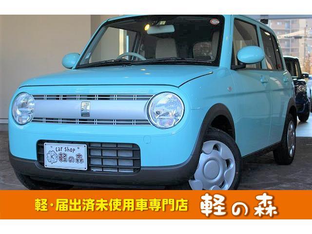 スズキ L 軽自動車 届出済未使用車 衝突軽減ブレーキ エアコン Wエアバッグ ABS