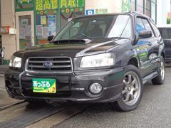 フォレスターXT ターボ 4WD 社外17インチアルミ エアロ HID