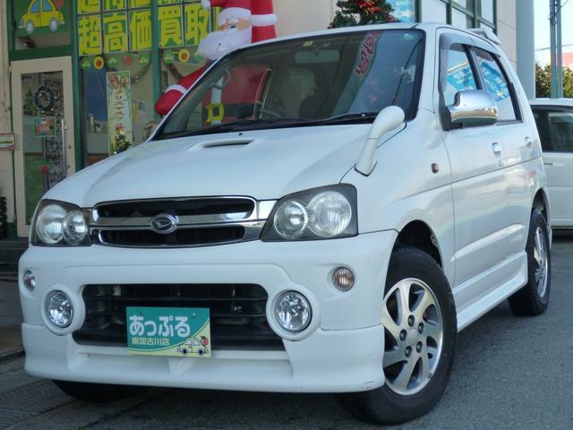 ダイハツ キスマークX 4WD ターボ CD フォグ アルミ