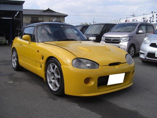 「スズキ」「カプチーノ」「オープンカー」「奈良県」の中古車