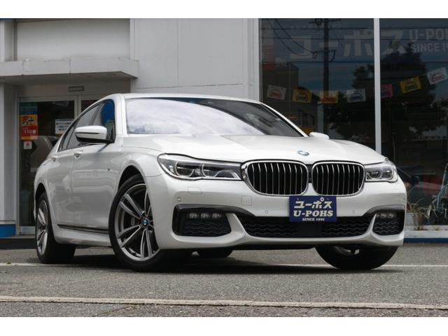 BMW 740i Mスポーツ 360°カメラ・ホワイトレザーシート