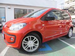 VW アップ!オレンジ アップ! エマージェンシーブレーキ シートヒーター