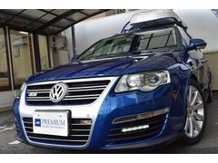 VW パサートヴァリアントR36 1オナ Dメンテ 禁煙 記録簿 ジェットバック