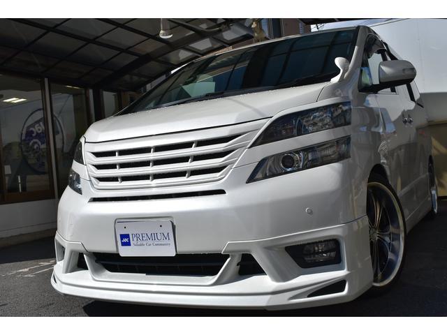 トヨタ 2.4Z アドミレーション プレミアムS 車高調 20AW