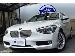 BMW116i ファッショニスタ 白革 純ナビ Bカメ Cアクセス