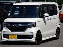 N BOXカスタムG・Lターボホンダセンシング 8型ナビTV TEIN車高調