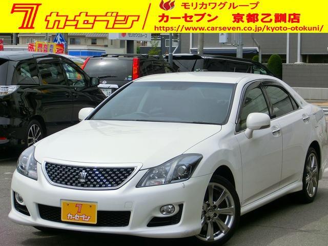 トヨタ 3.5アスリート 純正HDDナビ Pシート 純正18AW