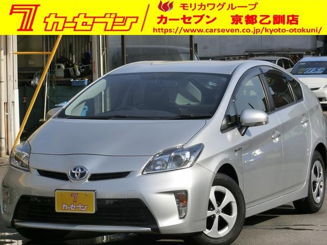 トヨタ プリウス S ナビTVバックカメラ ETC 禁煙 (車検整備付)